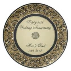 50th anniversary plate 50th wedding anniversary plates 50th wedding anniversary plate designs zazzle