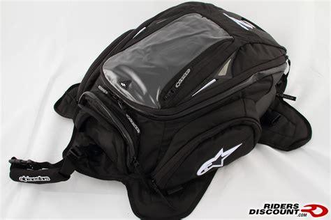 alpinestars tech aero motorcycle tank bag sportbikes net