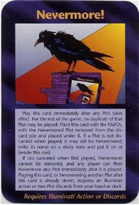 illuminati new world order card illuminati card nevermore assassins illuminati