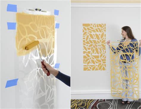 wohnung malen 65 wand streichen ideen muster streifen und struktureffekte