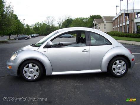 2000 volkswagen beetle 2000 volkswagen new beetle gls coupe in silver metallic