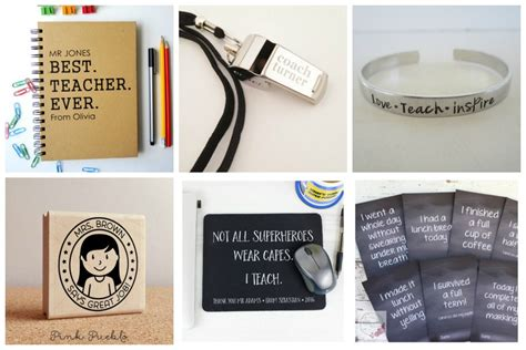 ten of the best personalised christmas gifts for teachers