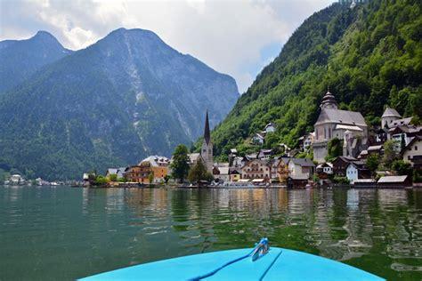 boat rental vienna hallstatt austria a charming lakeside village