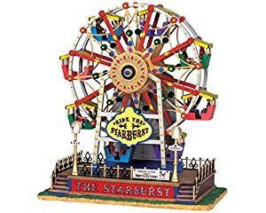 the starburst ferris wheel lemax the starburst ferris wheel home kitchen
