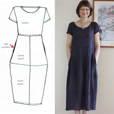 Pattern Review Eva Dress | sew tessuti blog sewing tips tutorials new fabrics