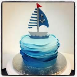 Com shower ideas boats cake theme baby sail boats shower sailing cake