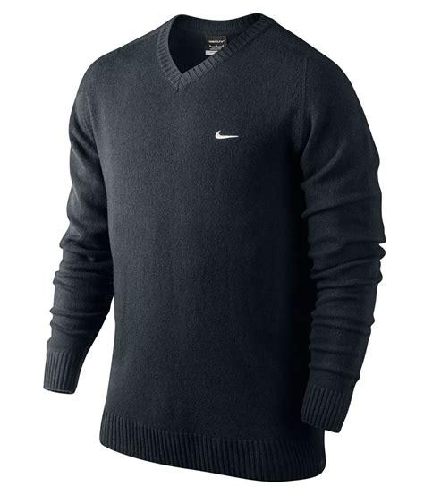 Sweater Pria Sweater O Neck Sweater Nke Sweater Unisex nike mens lambswool v neck sweater logo on chest 2013 golfonline