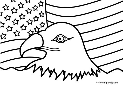 Printable Coloring Page Usa | usa coloring pages to download and print for free