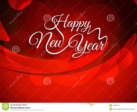 new year background design beautiful text design of happy new year vector