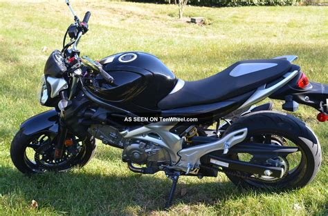 Suzuki Sv650 Gladius Suzuki Gladius Sv650 Sfv650 2009 Black Silver
