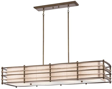 Rectangular Kitchen Island Lighting Kichler Lighting 42099cmz Moxie Transitional Rectangular Kitchen Island Billiard Light Kch