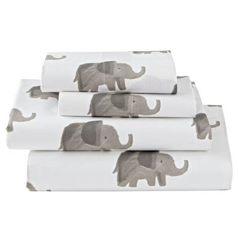 elephant bed sheets full queen grey elephant wild excursion kids quilt the