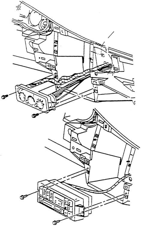 manual repair free 2001 buick regal engine control repair guides control panel removal installation autozone com