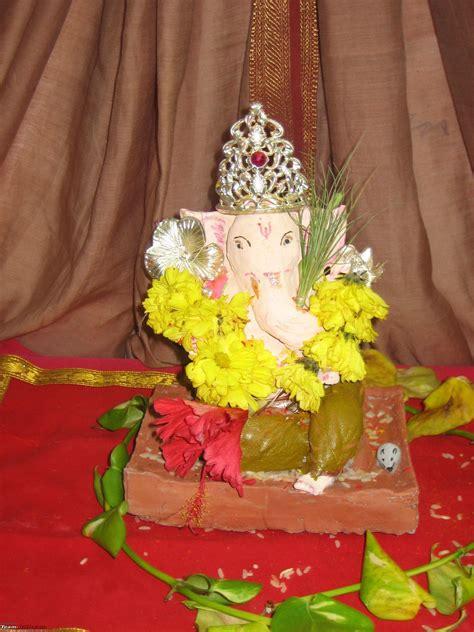 ganesh idol  clay  celebrate eco