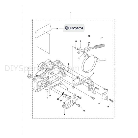 husqvarna 445 chainsaw parts diagram husqvarna 445e chainsaw 2011 parts diagram chain