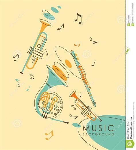 imagenes musicales retro fondo musical abstracto del vintage ilustraci 243 n del vector