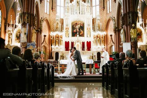 Holy Family Church Chicago Wedding with Lauren & Sergio