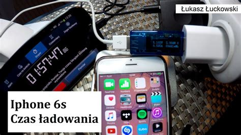 iphone 6s ładowanie 1 100 charging time