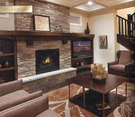 natural stone fireplace natural stone fireplace with wood mantel trinity