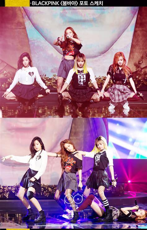 blackpink inkigayo photo blackpink in sbs inkigayo behind photos kpopmap