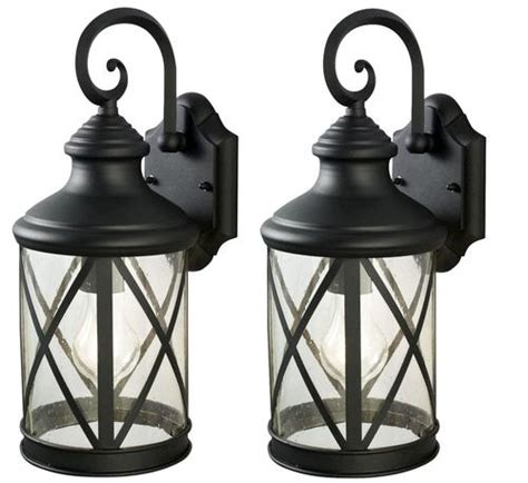 Patriot Outdoor Lighting Patriot Lighting 174 Sonoma 1 Light 16 Quot Black Pack Outdoor Wall Light At Menards 174