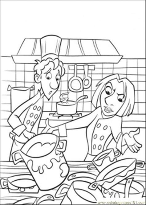 coloring page of a kitchen kitchen coloring page az coloring pages