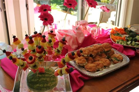 great food ideas for baby shower baby showers pinterest