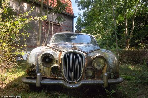 Abandoned Car In Front Of House by Vehicles From Rolls Royces To Ferraris Are Reduced To Rust After Being Abandoned Daily Mail
