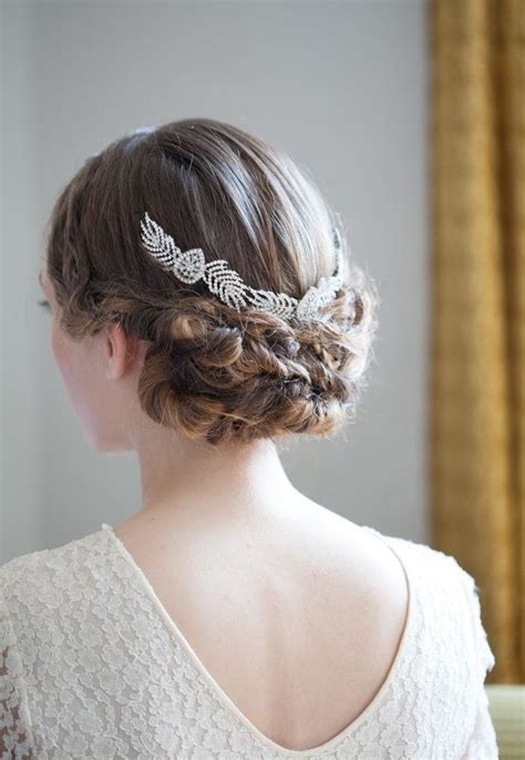 Vintage Wedding Hair Accessories by Grecian Bridal Headpiece Deco Wedding Hair Accessory