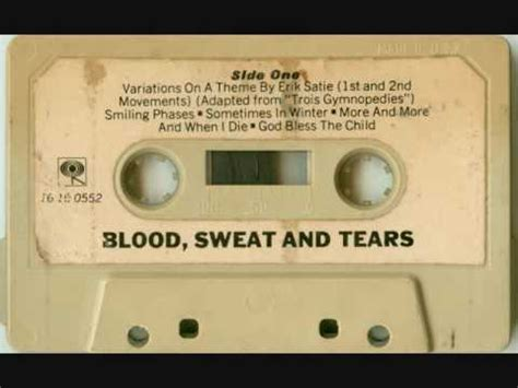 blood sweat tears 05 and when i die blood sweat tears 05 and when i die cassette