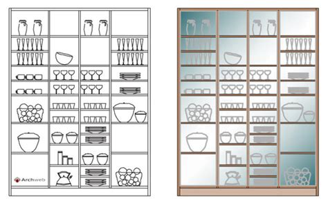 archweb cucina cucine prospetti e sezioni kitchen elevation