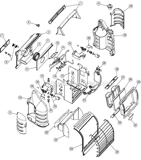 Buddy Heater Parts Diagram mr heater mh18b parts list and diagram
