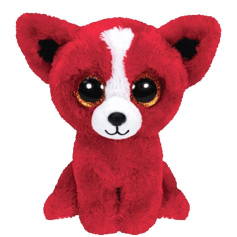 ty beanie boos dogs plush ty beanie boos tomato small puppy cat toys gift new ebay