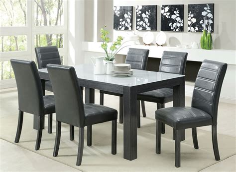 furniture dining table charming modern black and white dining table in black foa35 modern dining