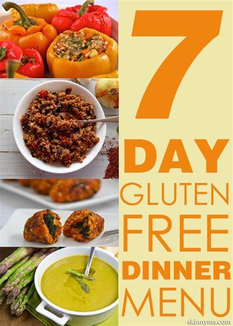 gluten free dinner menu ideas the world s catalog of ideas
