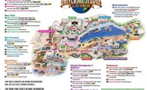 map of universal studios in florida theme park brochures universal studios florida theme