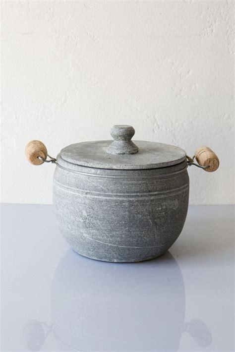Soapstone Pot - brazillian soapstone pot lost found homemaking