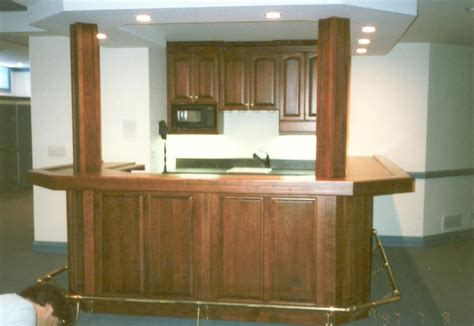 Custom Made by Custom Basement Bar By Woodworking Unlimited Inc