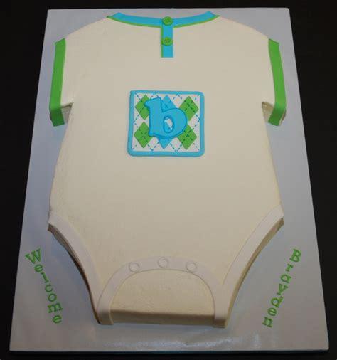 Onesie Baby Shower by Onesie Baby Shower Cake Cakecentral