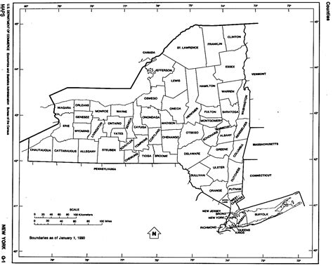 New York City Map Outline by New York Free Map