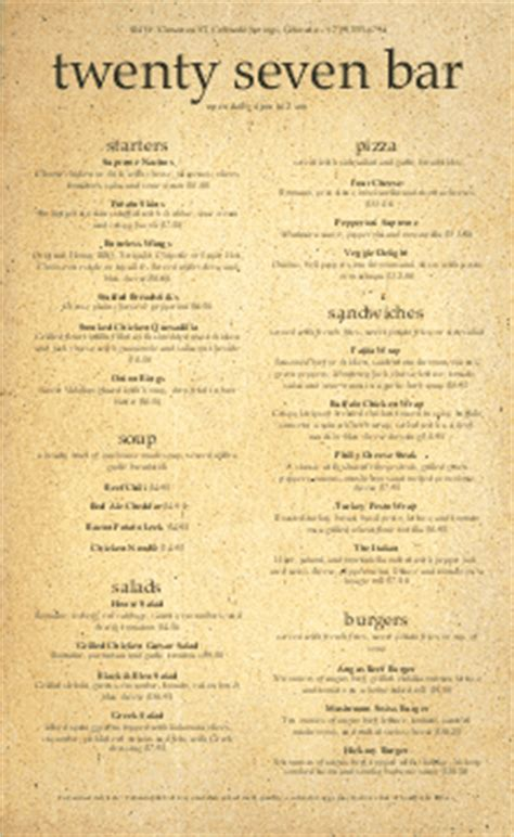 bar and grill menu templates sports bar menu templates and designs musthavemenus