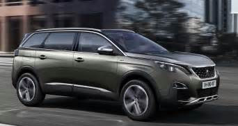 Peugeot 5008 Diesel Peugeot Debuts All New 5008 As A 7 Seater Suv
