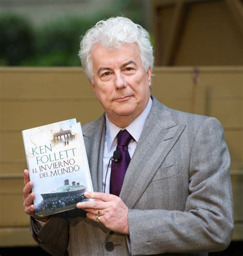 by ken follett ken follett pictures ken follet presents winter of the world book in madrid zimbio