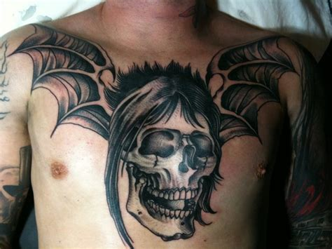 avenged sevenfold tattoos johnny avenged sevenfold