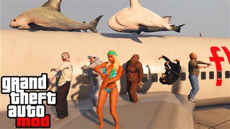mod gta 5 best gta 5 pc mods best mods gameplay zombies rainbow car