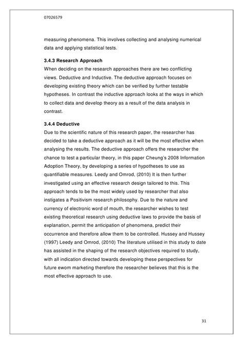 Conclusion On Thesis by Conclusion D39une Dissertation