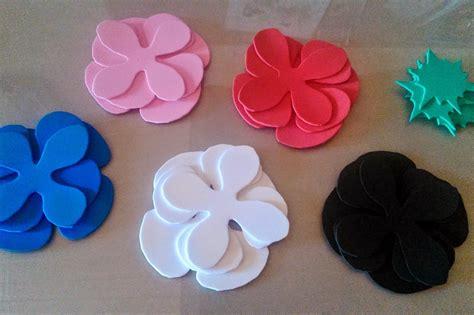 tutorial flores de goma eva foami 191 por qu 233 no hacemos unas preciosas flores de goma eva