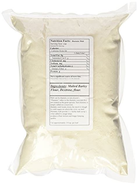 Diastatic Malt Powder 1 Lb diastatic malt powder 1 lb by barry farm import it all