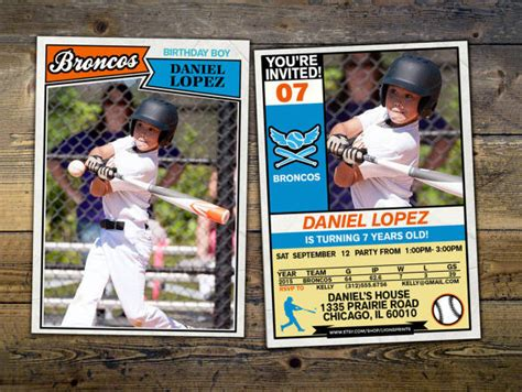 Baseball Card Template 18 Free Printable Sle Exle Format Download Free Premium Baseball Card Invitation Templates