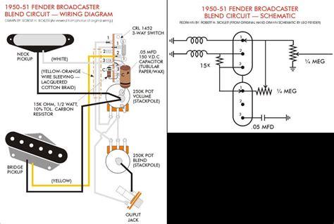 fender telecaster wiring diagram blurts
